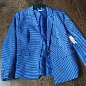 Crown & Ivy striped blazer